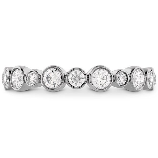 Hearts On Fire Bezel Diamond Band