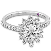 Hearts On Fire Behati Say It Your Way Oval Diamond Engagement Ring