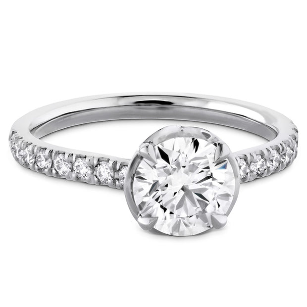 Hearts On Fire Juliette Diamond Band Engagement Ring