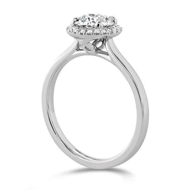 Hearts On Fire Juliette Halo Diamond Engagement Ring