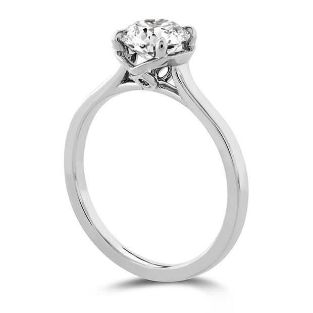 Hearts On Fire Juliette Solitaire Diamond Engagement Ring