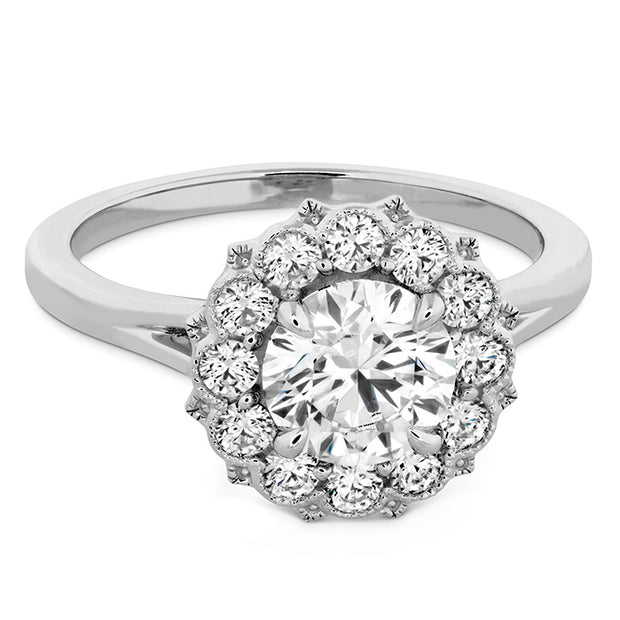 Hearts On Liliana Halo Engagement Ring