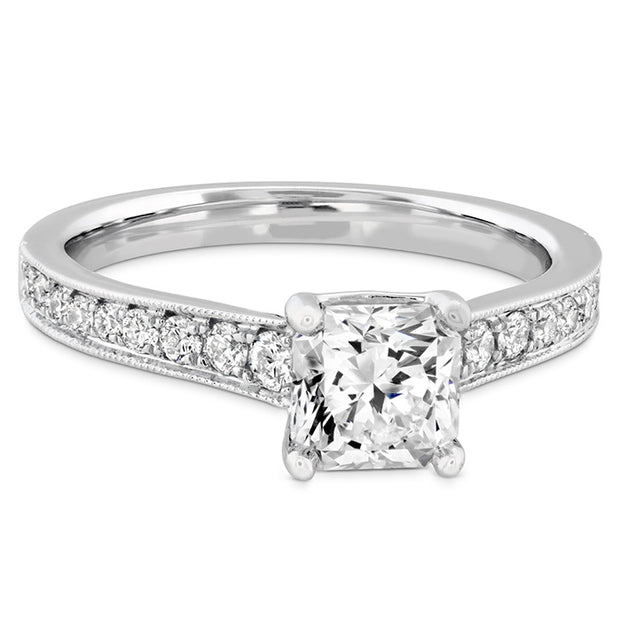 Hearts On Fire Liliana Milgrain Dream Diamond Engagement Ring