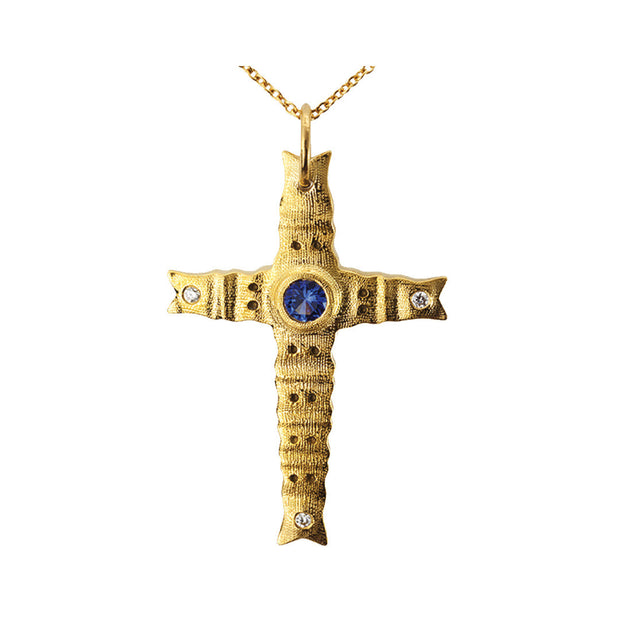 Alex Sepkus Tip Cross Necklace - M-103