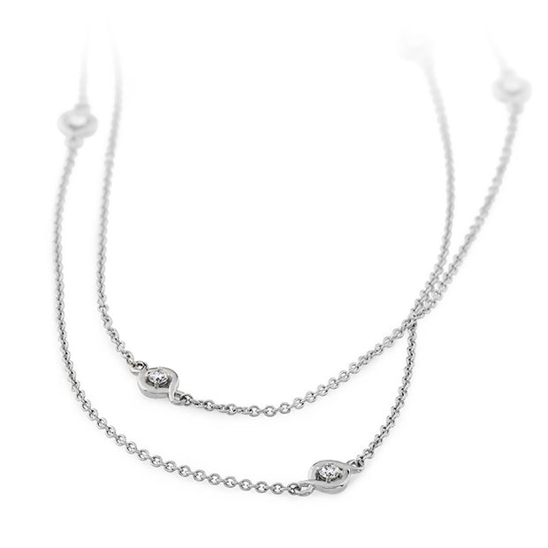 Hearts On Fire Optima Station Diamond Necklace
