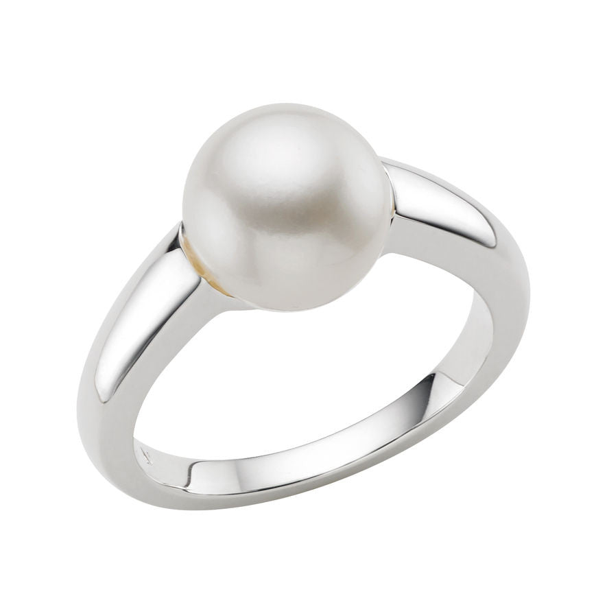 Links of London Sterling Silver Effervescence Pearl White Ring - 5045.3336