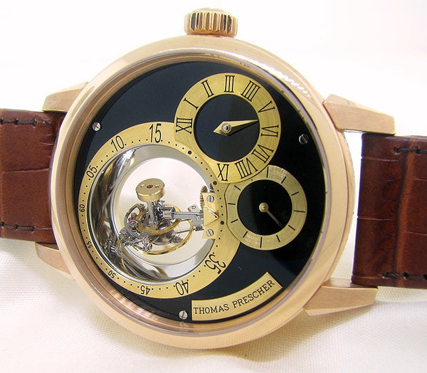 Thomas Prescher Triple Axis Tourbillon Watch