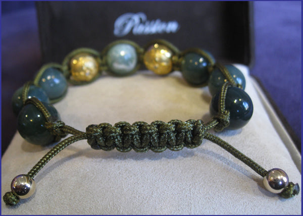 Passion Collection Grass Shambhala Bracelet