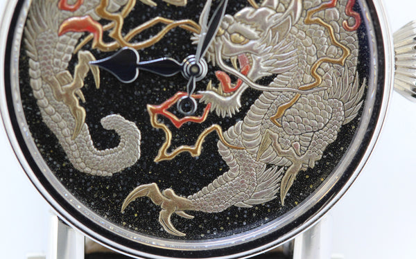 "Speake-Marin ""Hungry for Time"" Watch with Yamazaki Mushu Maki-e lacquer Dial"