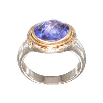 Steven Battelle Tanzanite Basket Ring