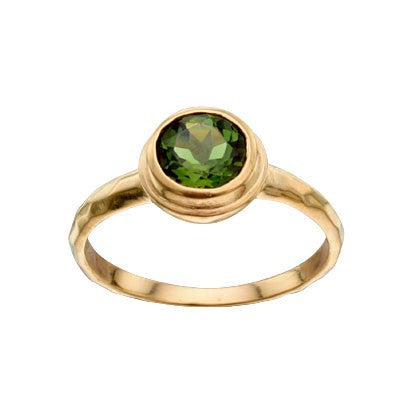 Steven Battelle Round Faceted Ring
