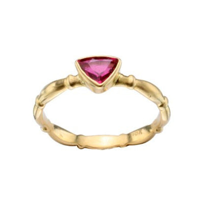 Steven Battelle Faceted Tourmaline Ring