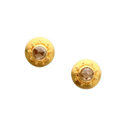 Steven Battelle Granulation Post Earrings