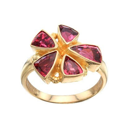 Steven Battelle Multiple Trillium Ring