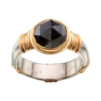 Steven Battelle Gold Band Accents Ring