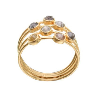 Steven Battelle Mixed Diamond Ring