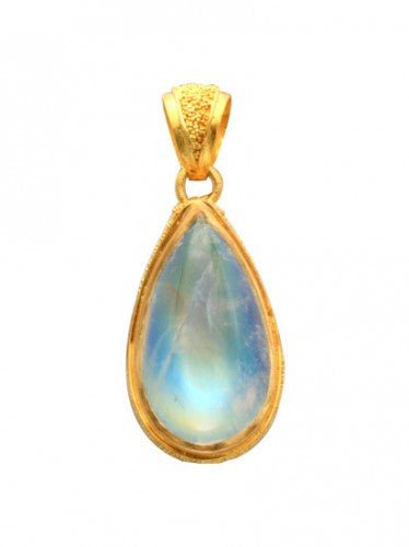 Steven Battelle Teardrop Pendant Necklace