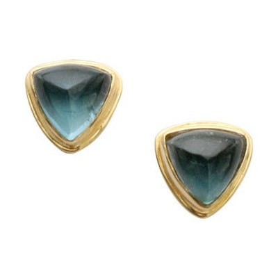 Steven Battelle Double Bezel Earrings