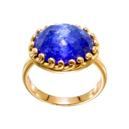 Steven Battelle Cabochon Tanzanite Ring