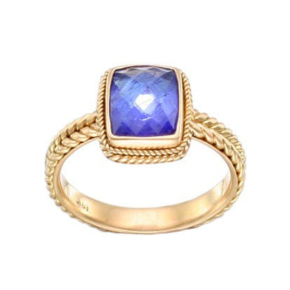 Steven Battelle Braid Tanzanite Ring