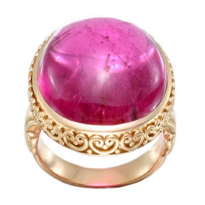 Steven Battelle Ornate Oval Ring