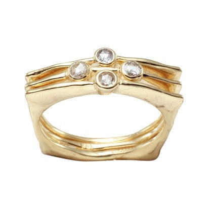 Steven Battelle Four Stone Diamond Ring