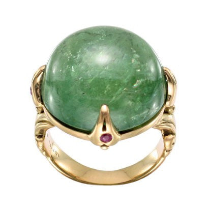 Steven Battelle Large Cabochon Ring