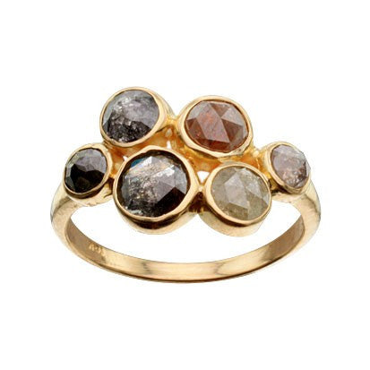 Steven Battelle Six Stone Ring