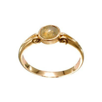 Steven Battelle Faceted Round Ring