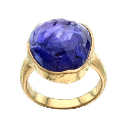 Steven Battelle Texture Tanzanite Ring
