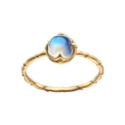 Steven Battelle Four Point Bezel Ring