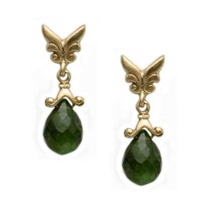 Steven Battelle Wing Dangle Earrings