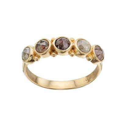 Steven Battelle Five Stone Ring