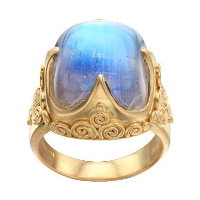 Steven Battelle High Ornate Ring