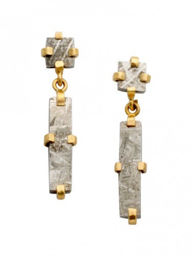 Steven Battelle Link Dangle Earrings
