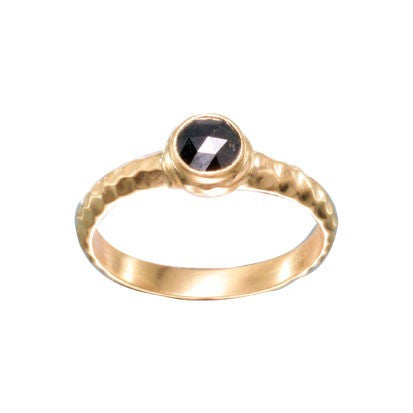 Steven Battelle Black DIamond Abstract Ring