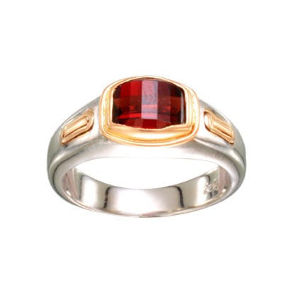 Steven Battelle Barrel Cut Ring