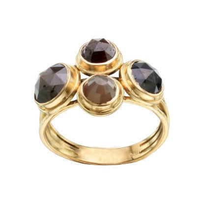Steven Battelle Four Stone Ring