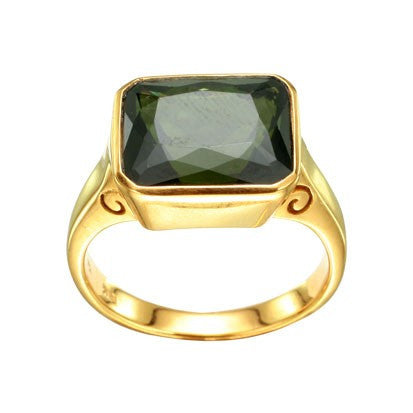 Steven Battelle Faceted Oval Ring