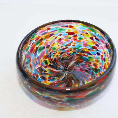 Glass Blown Condiment Bowl