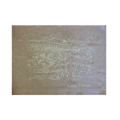 Lake House Linen Tea Towel - The Lake House