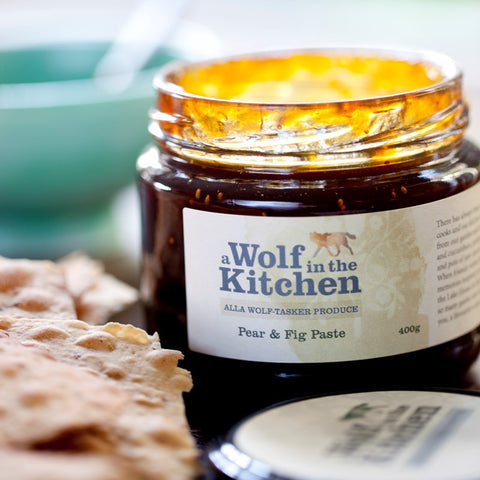 Pear & Fig Paste - A Wolf in the Kitchen
