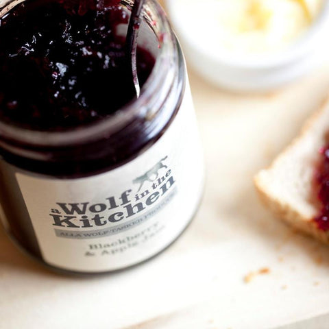 Raspberry & Redcurrant Jam - A Wolf in the Kitchen