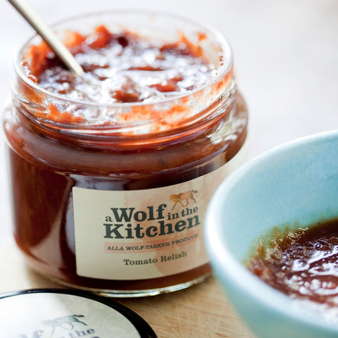 Tomato Relish - A Wolf in the Kitchen