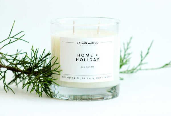 home and holiday candle