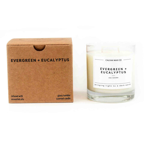 evergreen candle