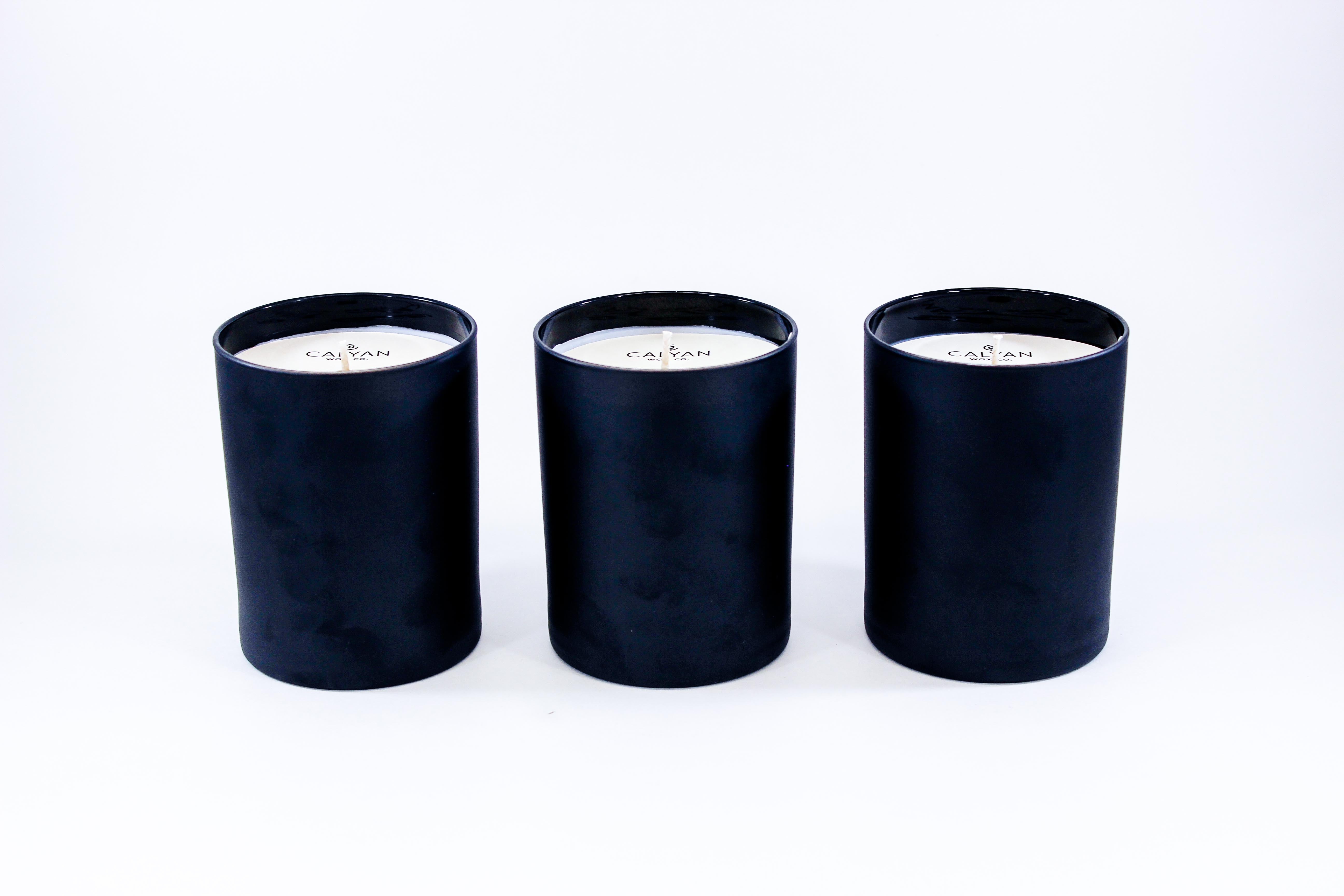 Black Tumbler Collection | Set of 3