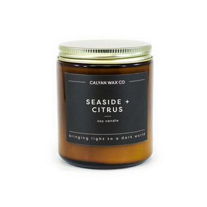 Seaside + Citrus Amber Jar