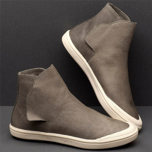 Bequemer Flacher Sneaker High Top