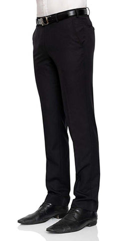 Cambridge Suit Pants In Plain Black